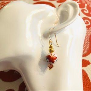 Frontrow.style Jewelry - 14k Vermeil Sterling Silver Earring Swarovski